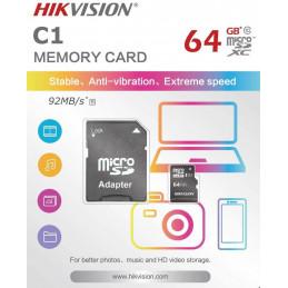 Memory Card 64 GB V30 Micro...